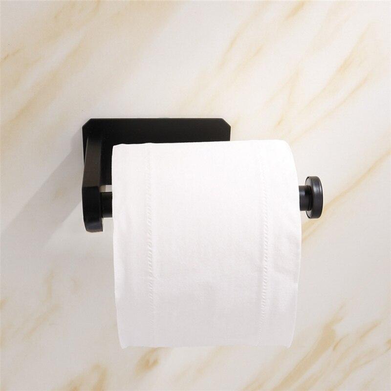 Tissue Holder Kitchen Bathroom Hanging Toilet Paper Holder Roll Paper Holder Towel Rack Kitchen Toilet Paper Stand Towel Holder