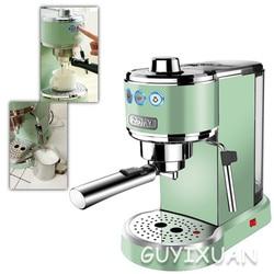 Italian semi-automatic coffee machine retro espresso pump type consumer and commercial steam milk frother steamer