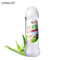 COKELIFE Aloe Lubricant 400ml Massage Sex Oil Water Based Lube Penis Intimate Gel Anal Vaginal Sexual For Adult Products Shop