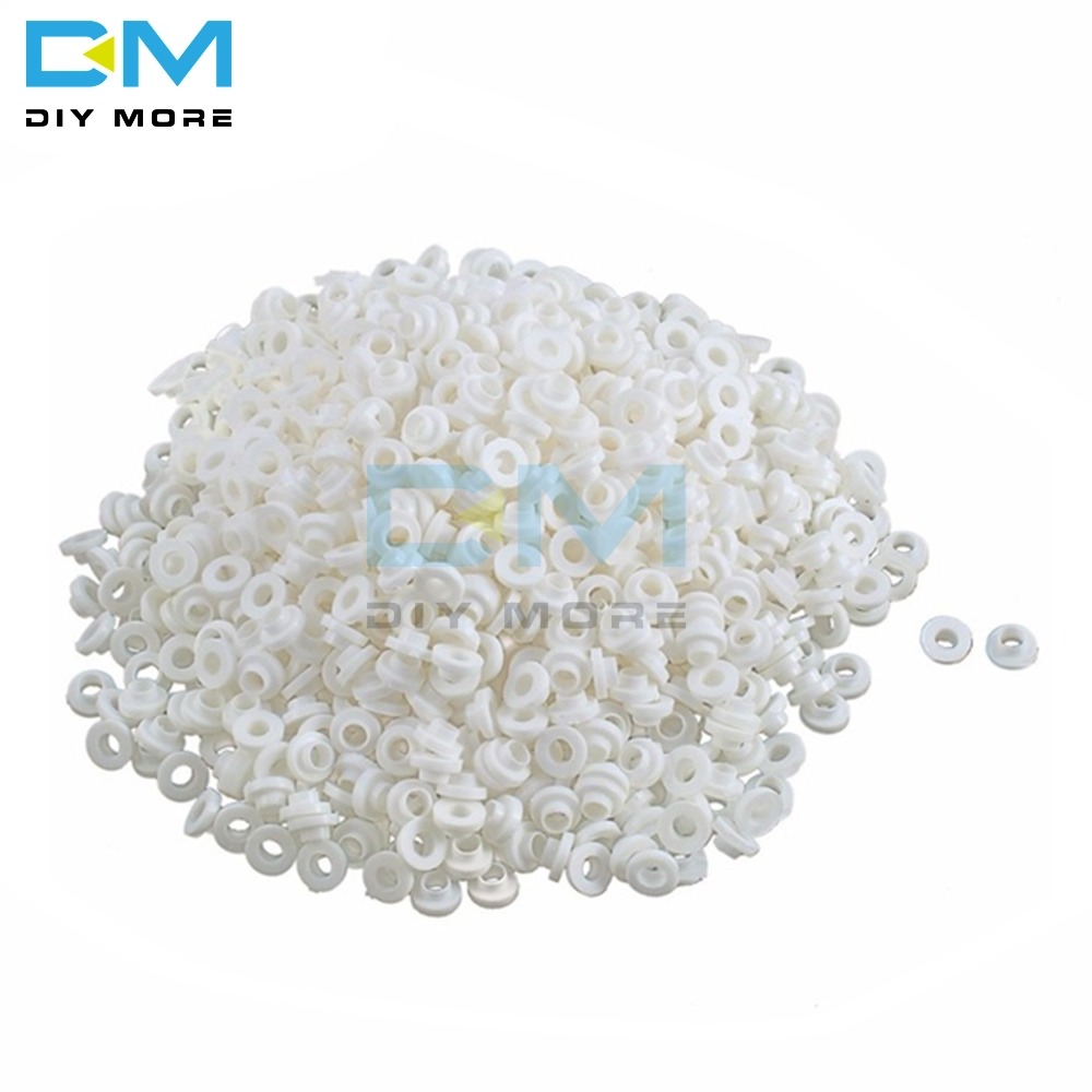 NEW 1000pcs TO-220 Insulation Tablets Circle Bushing TO - 220 Plastic Insulation Washer M3 Transistor Pads