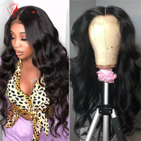 Beauty Lumina Pre Plucked Natural 30inch Malaysian Human Hair Wigs Body Wave 4X4 Lace Wigs For Black Women Remy Human Hair Wigs