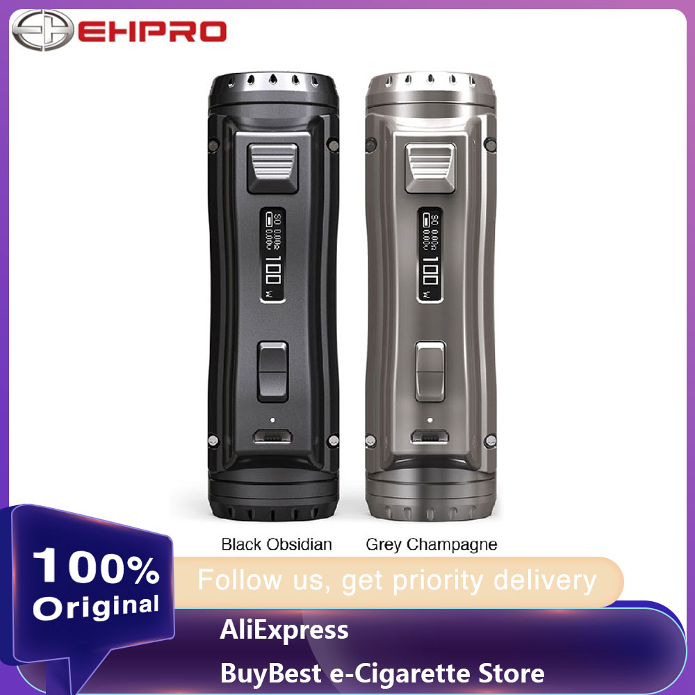 NEW Ehpro Cold Steel 100 120W TC Box MOD With 0.0018S Ultrafast Firing Speed & Online Software Update Vs OBS Cube/Drag 2 Mod
