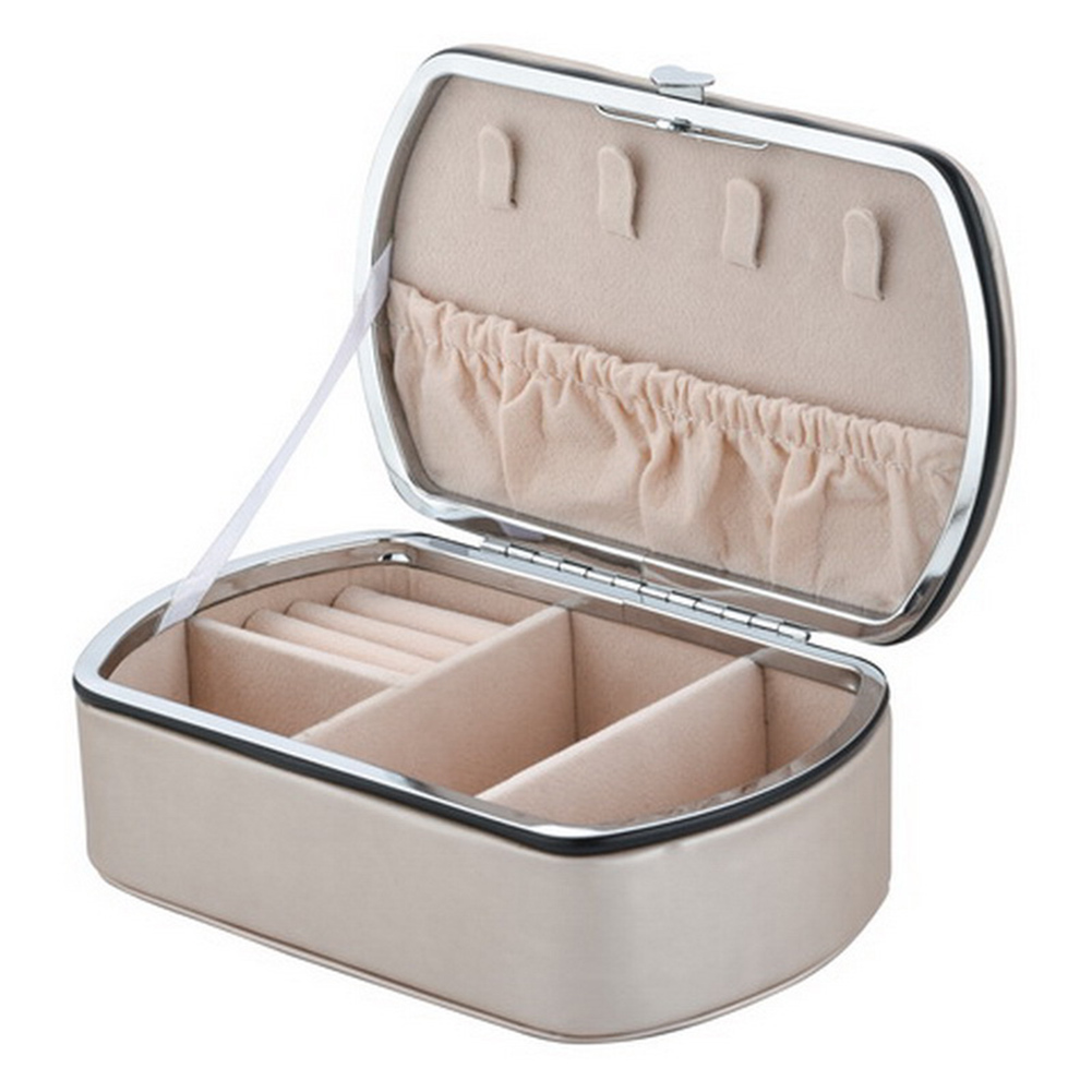 Travel Jewellery Storage Box Double-Layer Earing