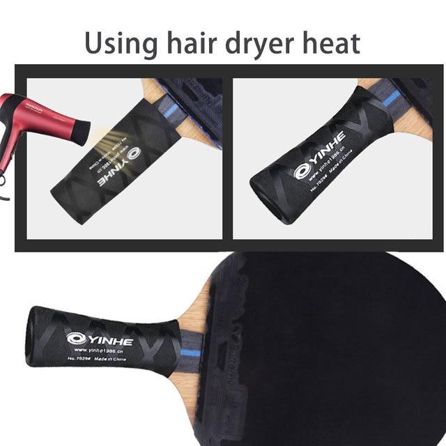 Rubber Durable Table Tennis Paddle Grip Bat Handle Wrap Overgrip Accessories