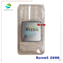 Новый процессор AMD Ryzen 5 2600 R5 2600 3,4 ГГц шестиядерный двенадцатиядерный процессор 65 Вт YD2600BBM6IAF разъем AM4