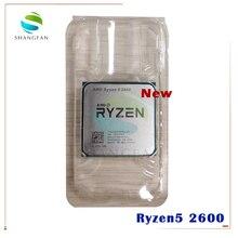 New AMD Ryzen 5 2600 R5 2600 3.4 GHz Six Core Twelve Core 65W CPU Processor YD2600BBM6IAF Socket AM4