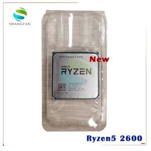 Image 1 - Novo amd ryzen 5 2600 r5 2600 3.4 ghz seis núcleo doze núcleo 65w processador central yd2600bbm6iaf soquete am4