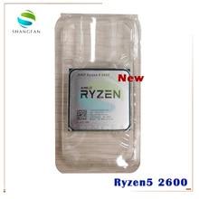 Yeni AMD Ryzen 5 2600 R5 2600 3.4 GHz altı çekirdekli oniki çekirdek 65W CPU İşlemci YD2600BBM6IAF soket AM4