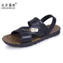 Лидер продаж; дешевые летние мужские сандалии; пляжная спортивная обувь; высококачественные мужские шлепанцы; Sandalias Hombre; уличные сандалии; шлепанцы без застежки