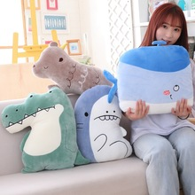 Shark Crocodile Doll Stuffed & Plush Animals Toy Plush Animals Soft Baby Kids Toys For Girls Children Boys Birthday Gift Kawaii 220cm stuffed animals giant removable crocodile doll for decorative pillows kids toys valentines day gift juguetes brinquedos