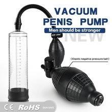 Charging Penis Enlargement Vibrator for Men Electric Penis Pump,Male Penile Erection Training,Penis Extend Sex Toys Shop