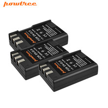 Powtree – batterie pour appareil photo Nikon, 2000mAh, EL9, EL9a, D40, D60, D40X, D5000, D3000