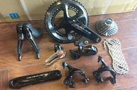 Dura ace r9100 groupset 2*11s 22s bicicleta de estrada|Pedal da bicicleta| |  -