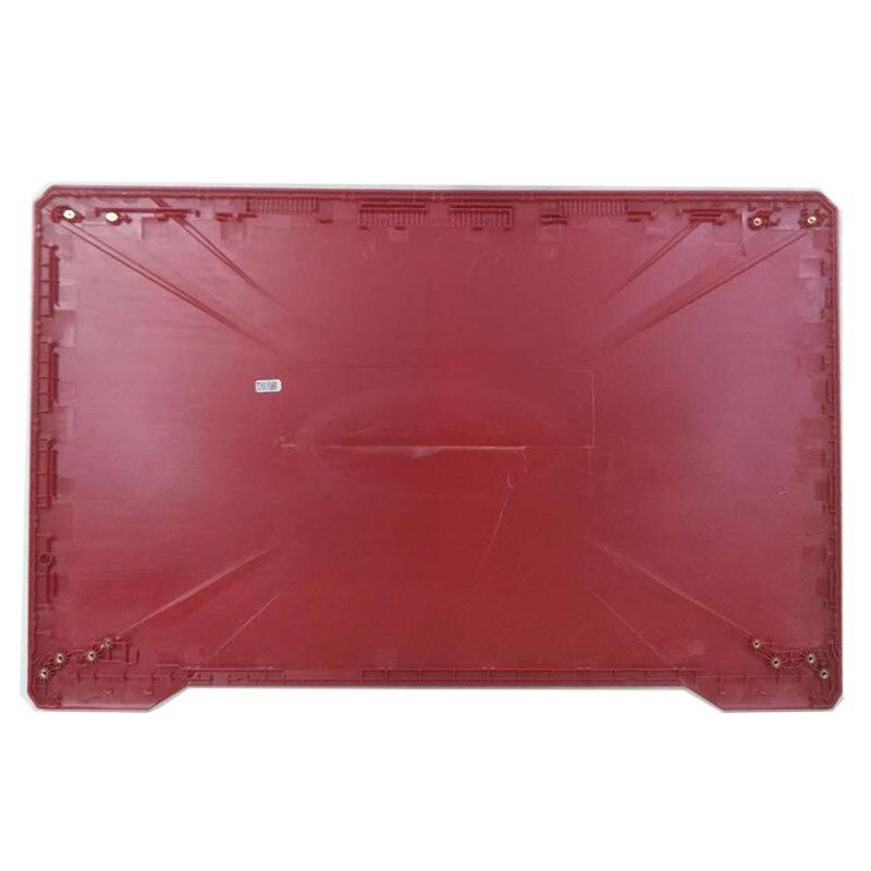 Купить с кэшбэком For ASUS FX80 FX80G FX80GD FX504 FX504G FX504GD/GE Laptop LCD Back Cover/Front bezel/Hinges/Palmrest/Bottom Case 47BKLLCJN70