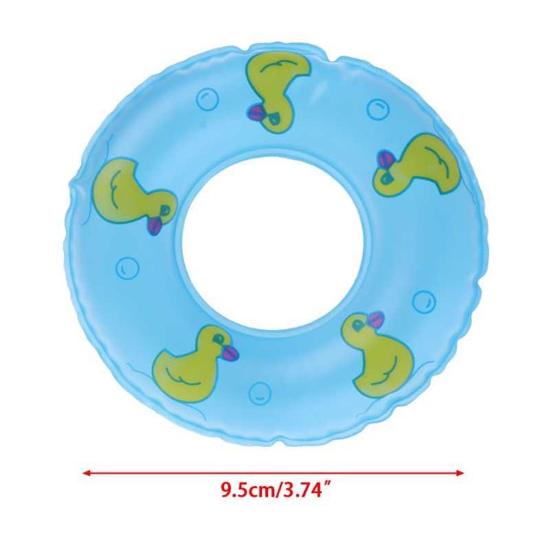 1 個ミニ水泳ブイ Lifebelt リングのために人形アクセサリー玩具人形 U50F