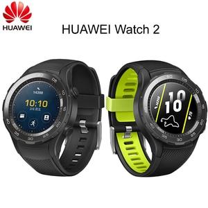 Image 1 - הגלובלי Rom Huawei שעון 2 ספורט חכם שעון קצב לב Tracker עבור אנדרואיד iOS IP68 עמיד למים NFC GPS שעון