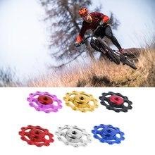 Aluminum Mtb Bicycle Rear Derailleur Pulley Jockey Wheel Road Bike Guide Roller Idler Part Cycling Accessory цена 2017