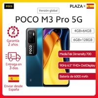 En Stock versión Global POCO M3 Pro 5G Dual SIM NFC de la dimensión 700 Octa Core 90Hz 6,5 FHD + DotDisplay 5000mAh 48MP Triple Cámara