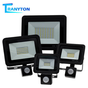 Floodlight Street-Light Pir-Motion-Sensor LED Adjustable Garden Waterproof 220V