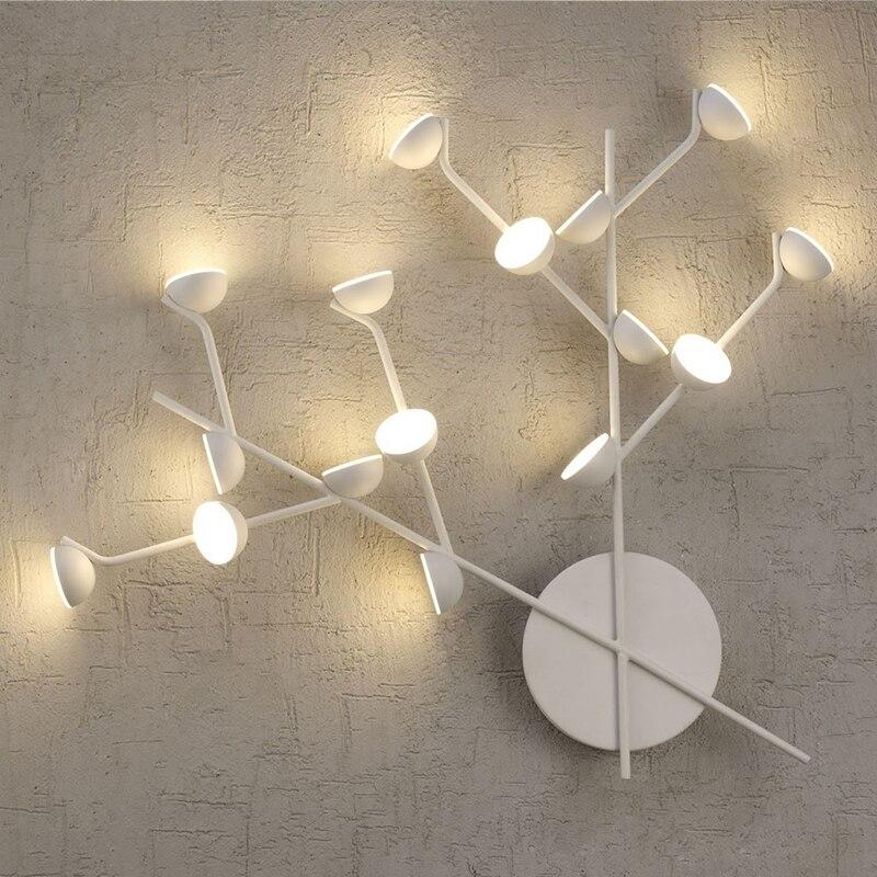Скандинавский простой выставочный зал, настенный светильник, датская креативная вилла, коридор, лестница, спальня, головной светильник, ТВ