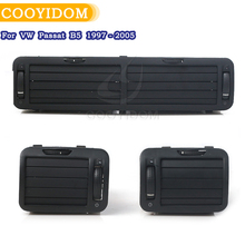 New Front Dashboard Central Air Vent Outlet A/C Heater Fit For Volkswagen VW Passat B5 1997- 2005 3B0819728 3B0 819 728
