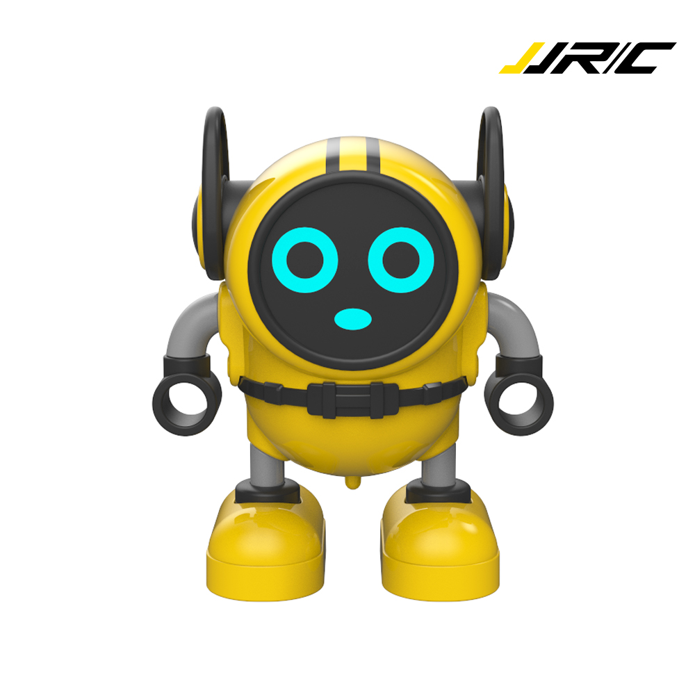 JJRC Robot Toy Gyro Pull Back Robots Detachable Gyroscopes 3-Modes Wind-up Car Launching Mode Smart Battle Robots Toy for Boys