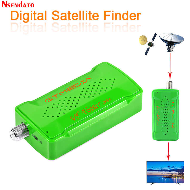 GTmedia Freesat V8 Finder BT03 1080P Satfinder DVB-S2 Satelit Finder untuk Android IOS Digital Bluetooth HD Satelit Satfinder
