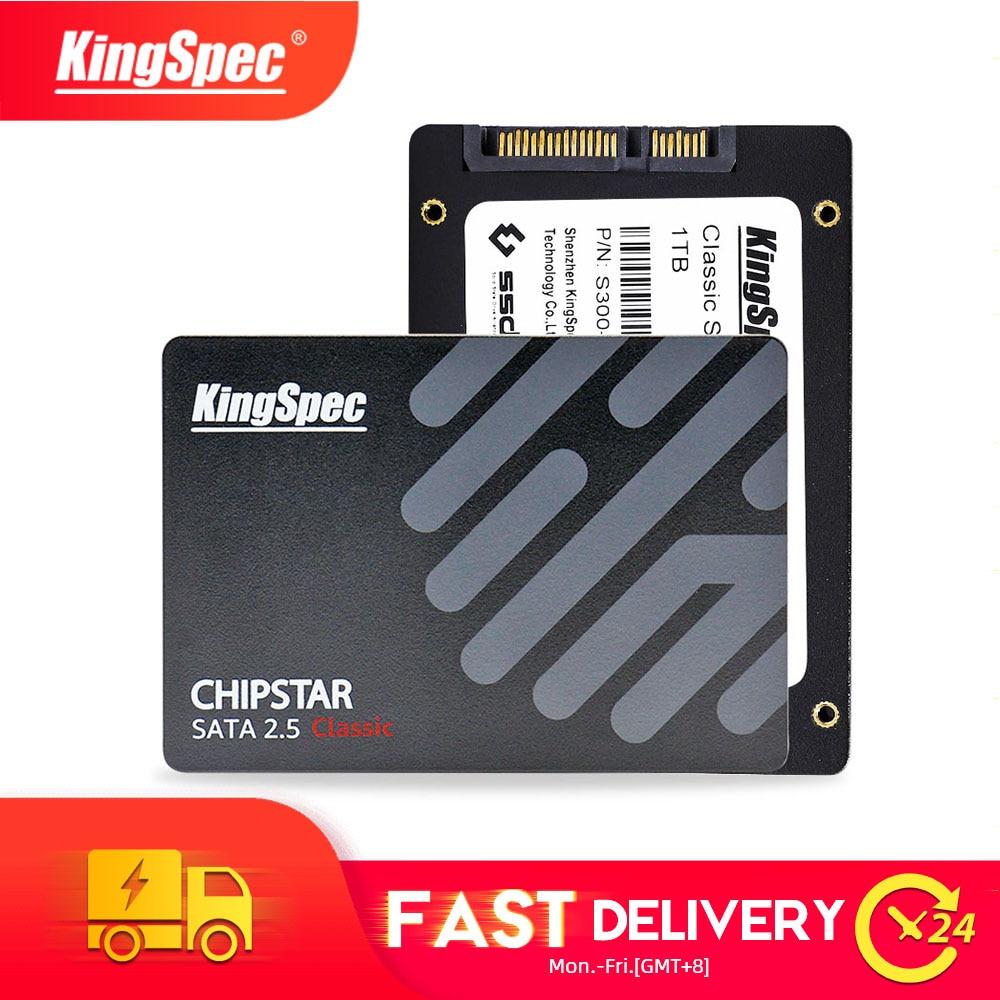 KingSpec 2,5 дюймов SATAIII hd S300 SSD 128 ГБ 256 Гб жесткий диск ssd 512 ГБ 1 ТБ 2 ТБ SSD жесткий диск 64 Гб для ноутбуков настольных ПК