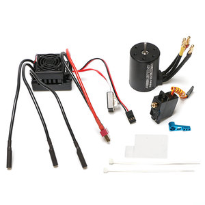 Image 3 - WLtoys 12428 Upgrade parts 4300KV brushless motor 60A ESC servo power set components Third channel switch Metal differential