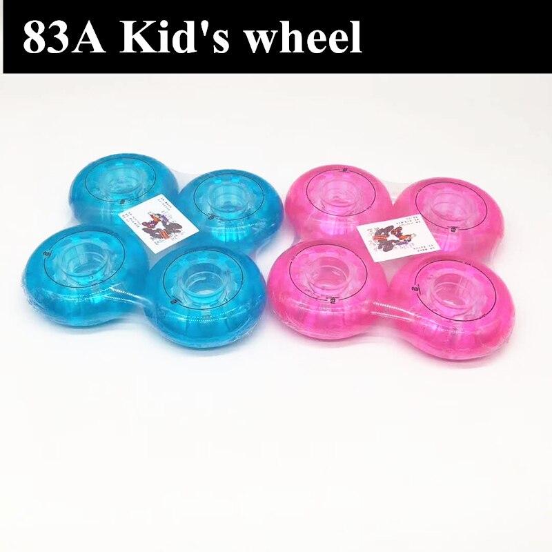83A Children's Inline Skates Wheel 64mm 68mm 70mm Skating Wheels For Kid's Roller Skating Shoes Rodas Tyre 64 68 70 4pcs/lot