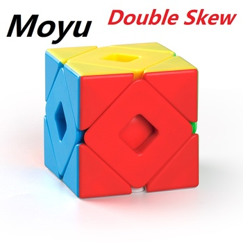 Newest MoYu Meilong Double Skewcubo 3x3 Magic Cube Puzzle Twsit Professional Speed Cubuo Magico Educational Toys For Students