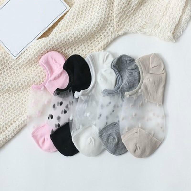 2 Pair New Elegant Women Girls Cotton Comfortable Spring Summer Wear Low Ankle Invisible Elastic Short Socks