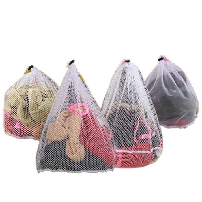 Mesh Laundry Bags Sturdy Mesh With Drawstring Closure Laundry Bag Clothing Clean Bag