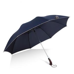 Image 2 - 128cm Großen Regenschirm Automatische 128cm Männer Regen Frau Winddicht Große Männliche Frauen Sonne 2 Floding Große Regenschirm Reise outdoor