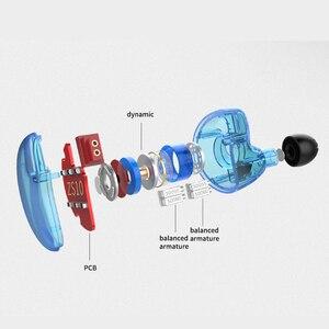 Image 3 - KZ ZS10 4BA + 1DD hybride dans loreille écouteur HiFi écouteur bouchon doreille casque écouteurs suppression de bruit DJ professionnel écouteur AS10 ZST