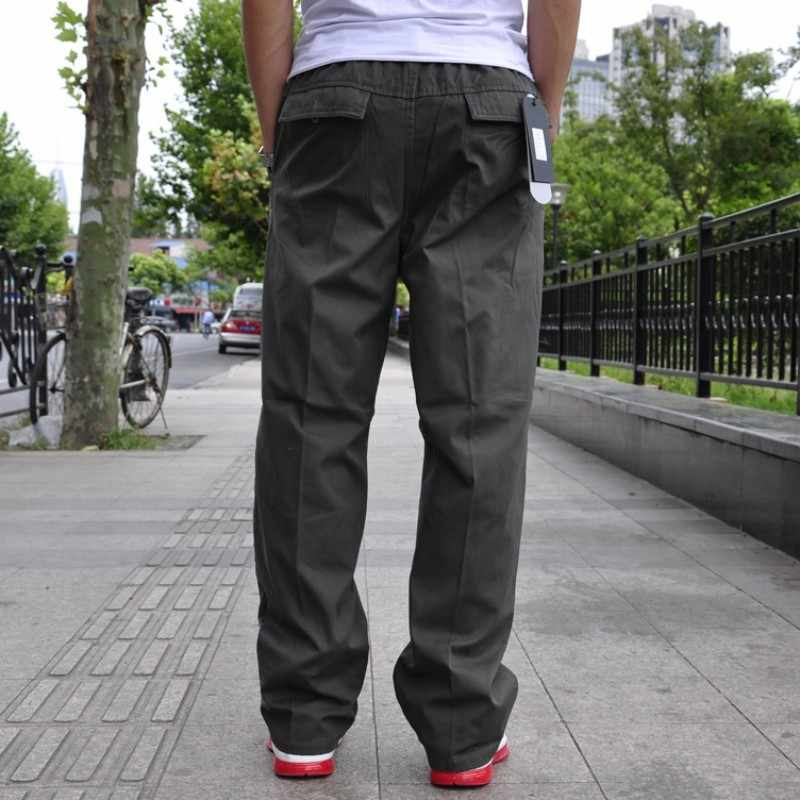 New Arrival moda marka mężczyzna Cargo Baggy hip-hop kieszeń luźne kombinezony na co dzień spodnie spodnie do pracy duży rozmiar l xl 2xl 3xl 4xl 6xl