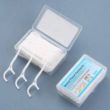 Flosser-Picks Teeth-Stick Dental-Floss Hygiene-Care Tooth-Cleaning Oral 50/100pcs