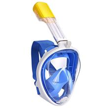 New Diving Mask Snorkeling Set Seaside Silicone Full Face Diving Mask Respiratory Masks Safe and Waterproof Swimming Equipment
