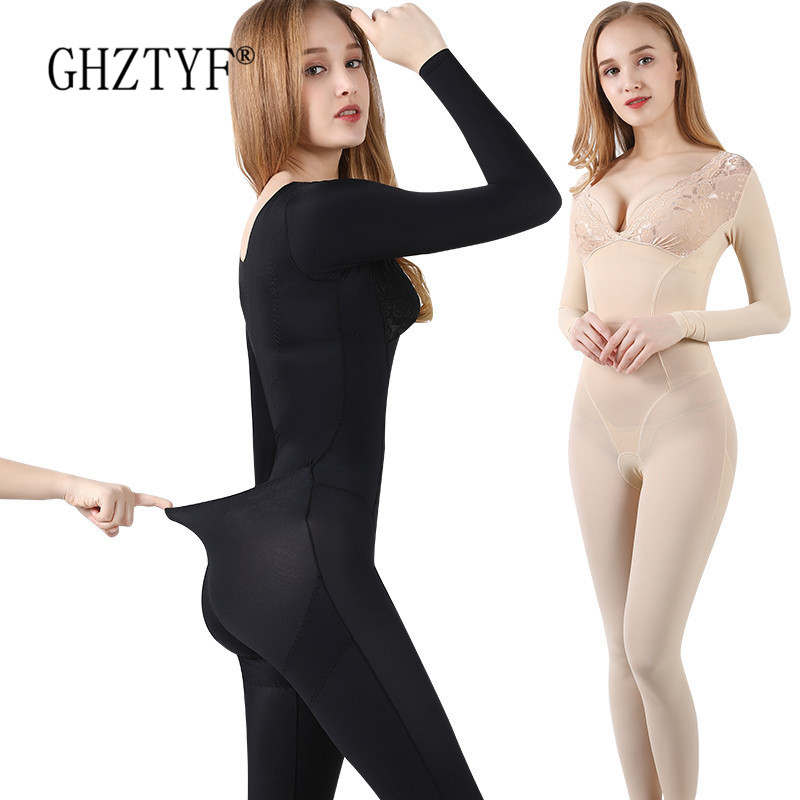 Waist Trainer Corset Bodysuit Shaper Shapewear Butt Lifter Shapers Slimming Negative Ion Warm Uterus No Trace Shaping Underwear title=