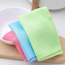 Saugfähigen Mikrofaser Küche Handtücher Gericht Schnell Trocknend Reinigung Tuch Geschirrtuch Putzlappen Hause Waschen