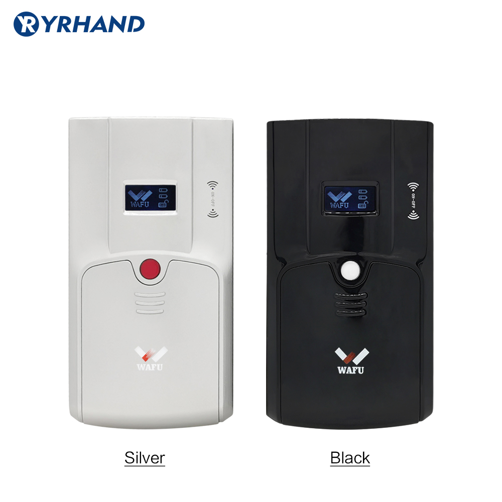 Wafu 011A Intelligent Invisible Electronic Door Lock Wireless Remote Control Opeing With Dual Circuits Unlocked For