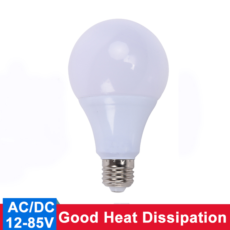 AC/DC <font><b>E27</b></font> <font><b>LED</b></font> <font><b>Bulb</b></font> <font><b>12v</b></font> <font><b>Led</b></font> Lamp 24v <font><b>Led</b></font> Light 36v <font><b>Led</b></font> Lampada Ampoule Bombilla 50v for Camping and ship Outdoor Lighting image