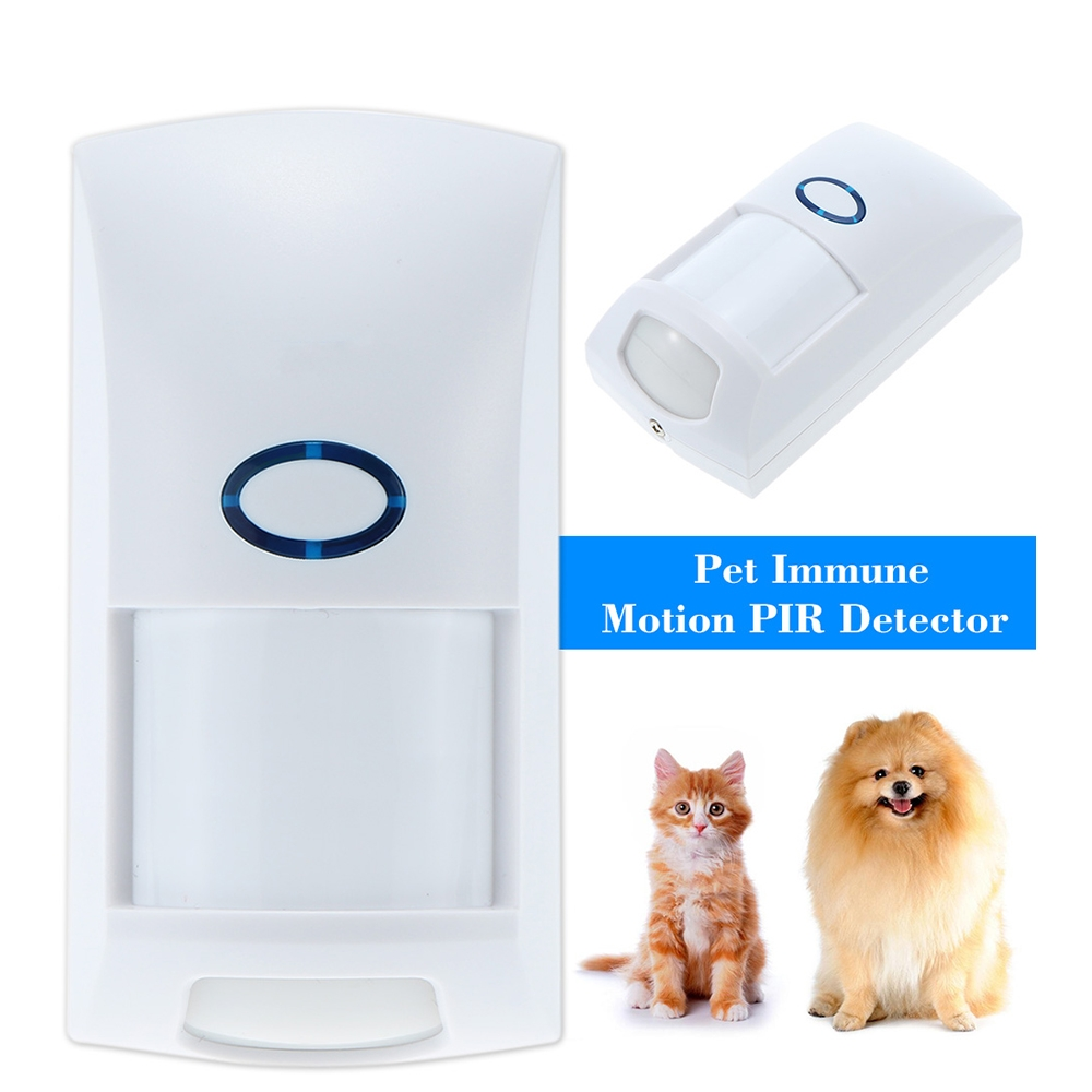 Mini Portable Wired Dual Infrared PIR Motion Detector Sensor For 25Kg Pet Immune Intelligent Volume Recognition Home Security