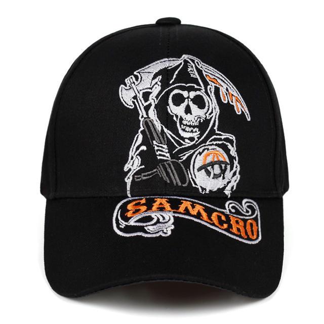 SAMCRO SKULL BASEBOL CAPS