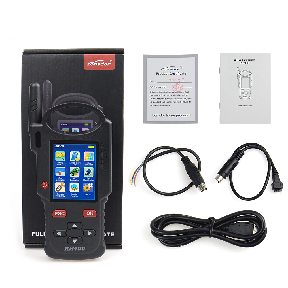 Image 4 - Original Lonsdor KH100 Remote Maker Key Programmer Generate Chip/Simulate Chip/Identify Copy/Remote Frequency with Free shipping-in Auto Key Programmers from Automobiles & Motorcycles