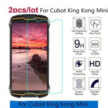 Перейти на Алиэкспресс и купить 2.5D 9H закаленное стекло для Cubot King Kong Mini защита экрана закаленное защитное стекло для Cubot King Kong Mini стекло