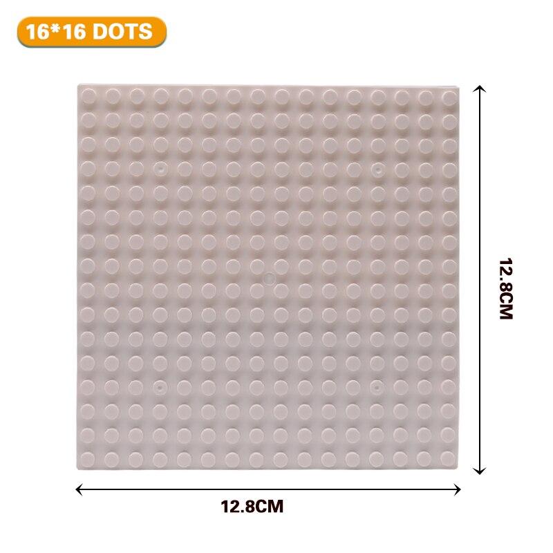 16x16 White