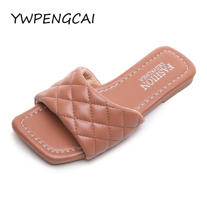 Size 26-36 Girls Summer Shoes Soft PU Leather Kids Slippers For Girl Fashion Style Girls Slippers