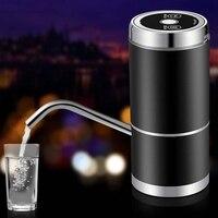 Heißer Wasser Flasche Pumpe  geräuscharm USB Lade Automatische Trinkwasser Pumpe für Universal 5 Gallonen Flasche Wireless & Tragbare für H auf