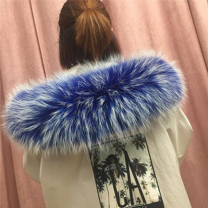 Зимняя женская Кожаная шапка с воротником из меха енота, мягкий цветной меховой шарф L5 - Цвет: Color 4